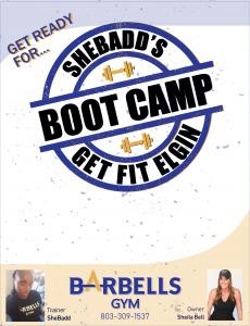 SheBadd's #GetFitElgin Bootcamp